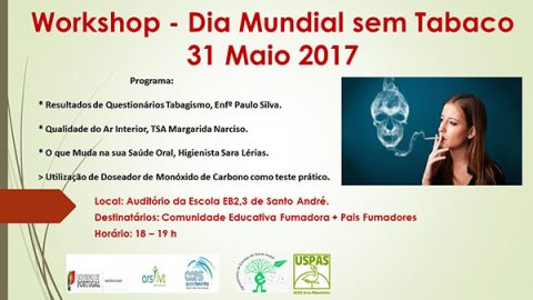 Workshop – Dia Mundial Sem Tabaco – 2017