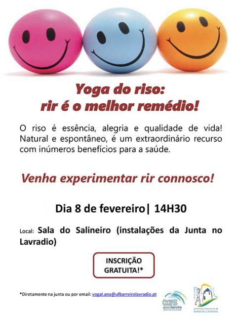 Yoga do Riso na Junta de Freguesia do Lavradio