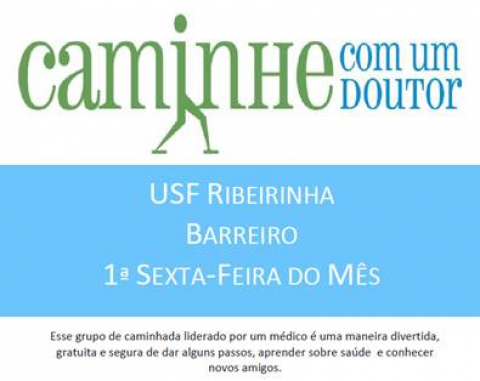 USF Ribeirinha – Walk With a Doc